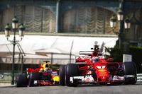Кімі Райкконен, Ferrari SF70H, Даніель Ріккардо, Red Bull Racing RB13