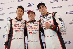 Kazuki Nakajima, Anthony Davidson, Sébastien Buemi, Toyota Gazoo Racing