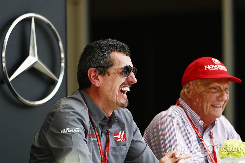 Niki Lauda, director no ejecutivo de Mercedes-AMG F1