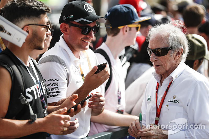 Sir Jackie Stewart trifft Fans
