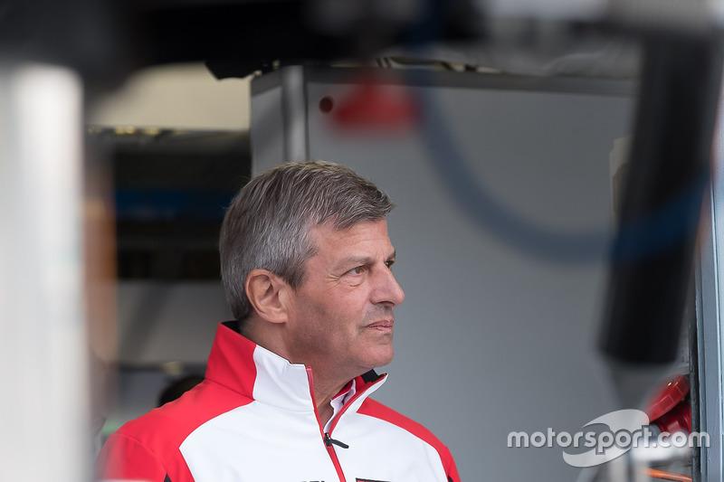 Fritz Enzinger, Porsche Team, LMP1-Leiter