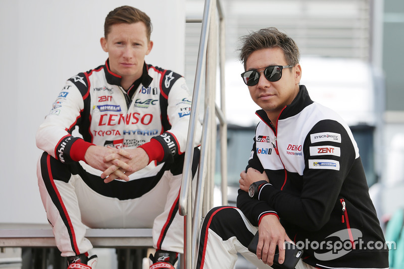 Mike Conway, Kamui Kobayashi, Toyota Racing