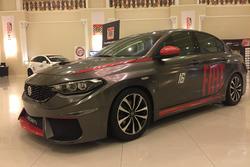 TOSFED'in hazırlattığı Fiat Egea yarış aracı
