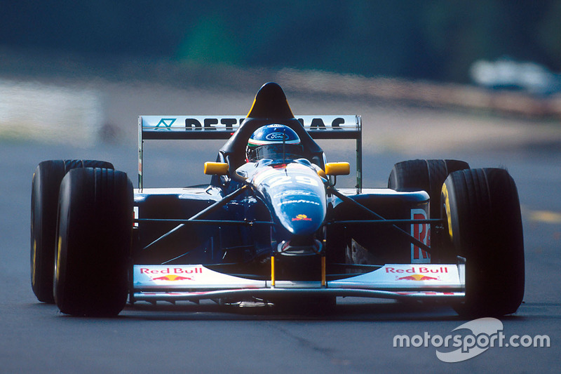 1995: Jean-Christophe Boullion, Sauber C14 Ford