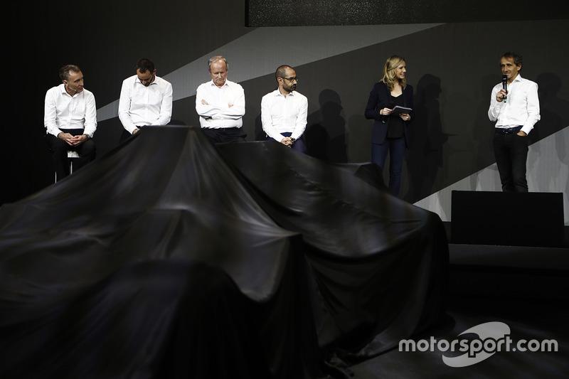 Das Management des Renault F1 Teams