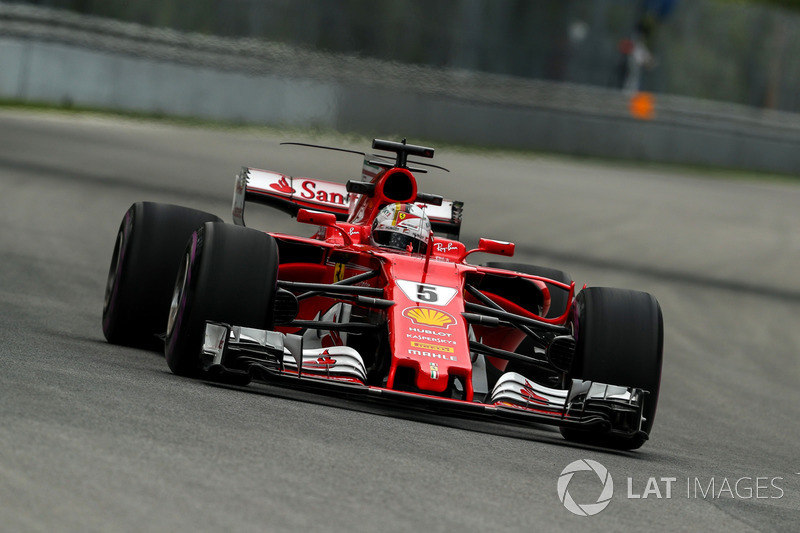 sebastian vettel ferrari sf70h gp du canada photos formule 1. Black Bedroom Furniture Sets. Home Design Ideas