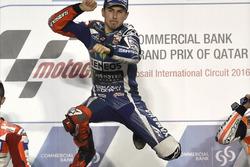 Подиум: победитель гонки - Хорхе Лоренсо, Movistar Yamaha MotoGP, Yamaha
