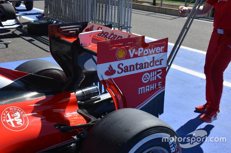 Rear wing, Ferrari SF16-H