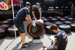 Red Bull Racing y las llantas Pirelli