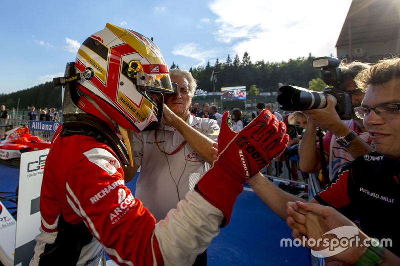 Winner Charles Leclerc, ART Grand Prix