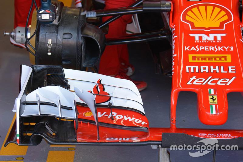 Ferrari SF16-H, Frontflügel