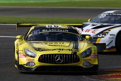 #86 AMG-Team HTP Motorsport, Mercedes-AMG GT3: Макс Гьотц, Томас Ягер, Гері Паффет