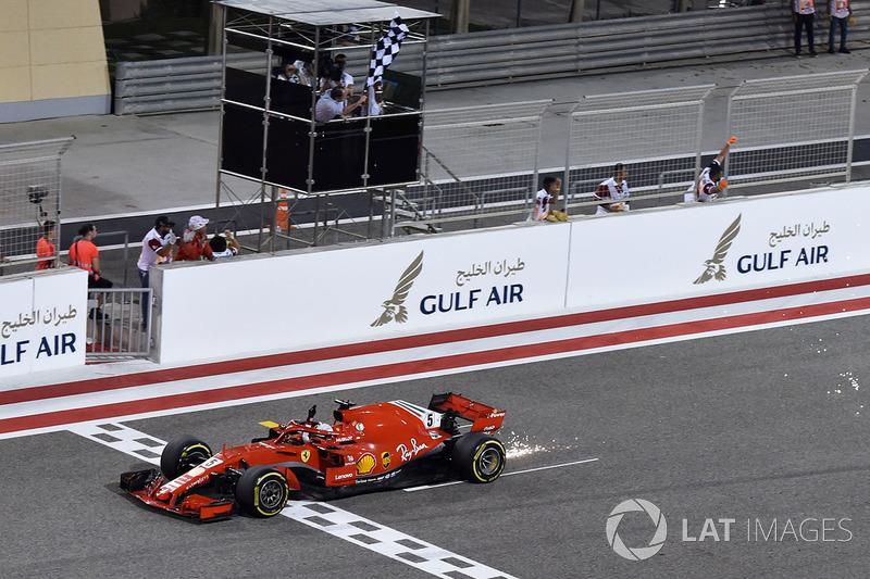 Bahreïn - Vainqueur : Sebastian Vettel