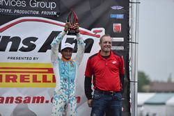 Trans-Am TA2 Northern Cup winner Ernie Francis Jr.