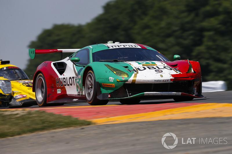 #51 Squadra Corse Garage Italia Ferrari 488 GT3, GTD: Francesco Piovanetti, Oswaldo Negri Jr., Daniel Serra