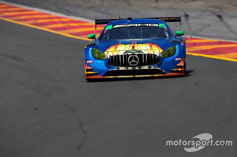 #75 SunEnergy1 Racing Mercedes AMG GT3, GTD: Kenny Habul, Thomas Jäger, Mikael Grenier