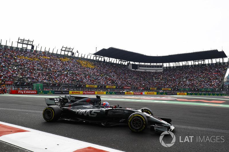 Romain Grosjean, Haas: 10