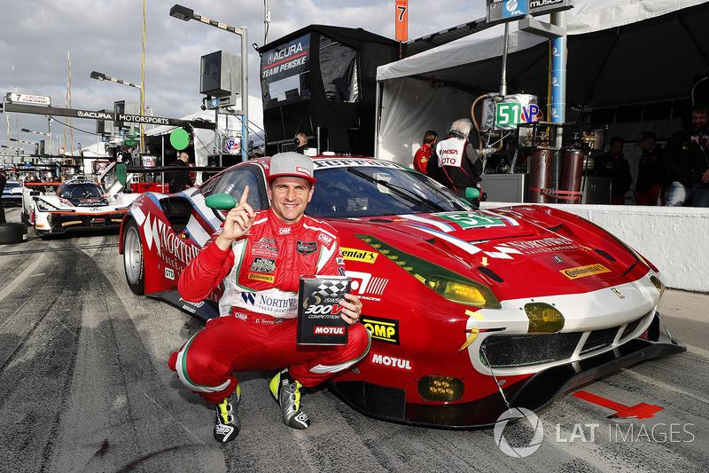 Поул GTD: #51 Spirit of Race Ferrari 488 GT3, GTD: Даніель Серра