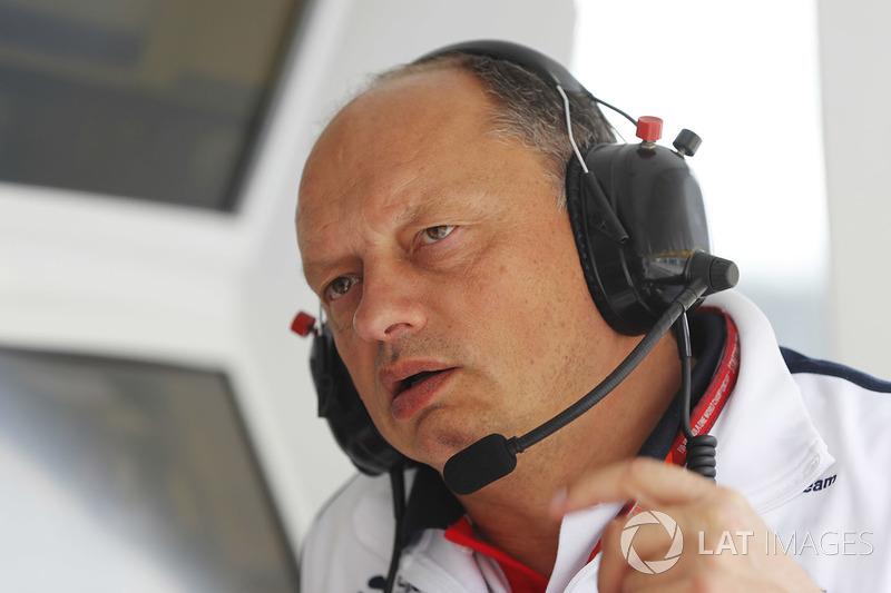 Frederic Vasseur, Team Principal, Sauber