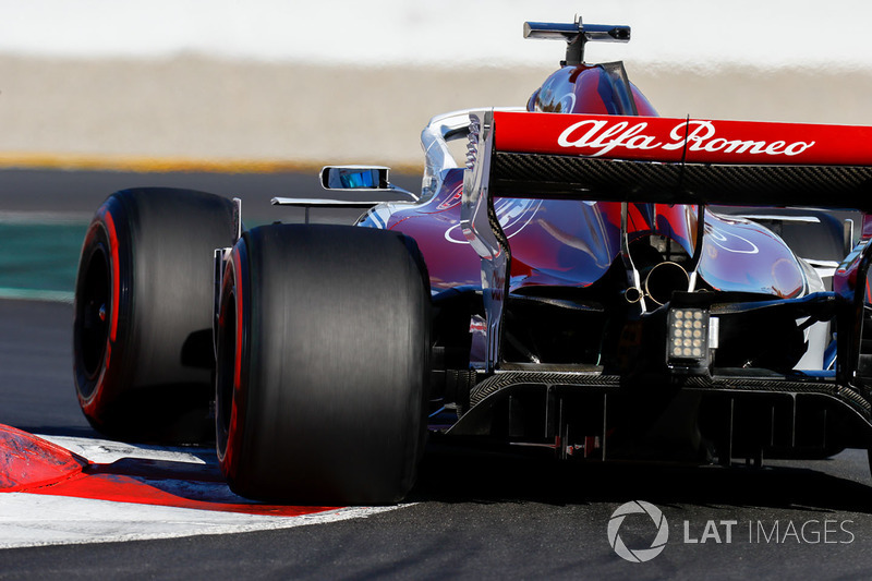 10. Alfa Romeo Sauber