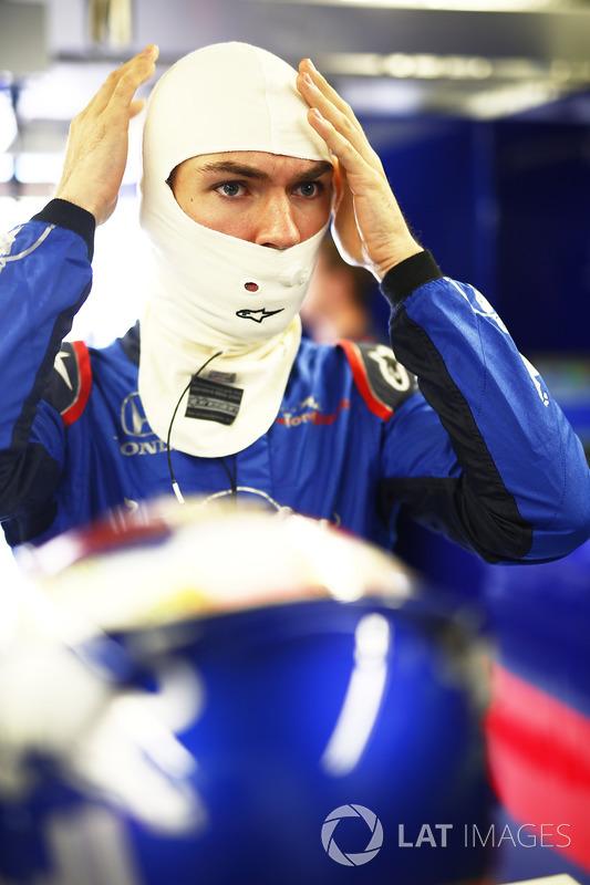 Pierre Gasly, Toro Rosso.