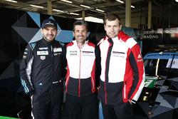 Patrick Dempsey mit Richard Lietz und Michael Christensen, Dempsey Proton Competition