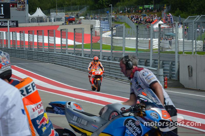 In der Boxengasse: Marc Marquez, Repsol Honda Team