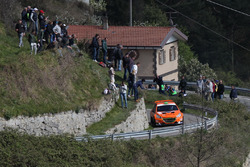 Simone Campedelli e Danilo Fappani Peugeot 208 R5