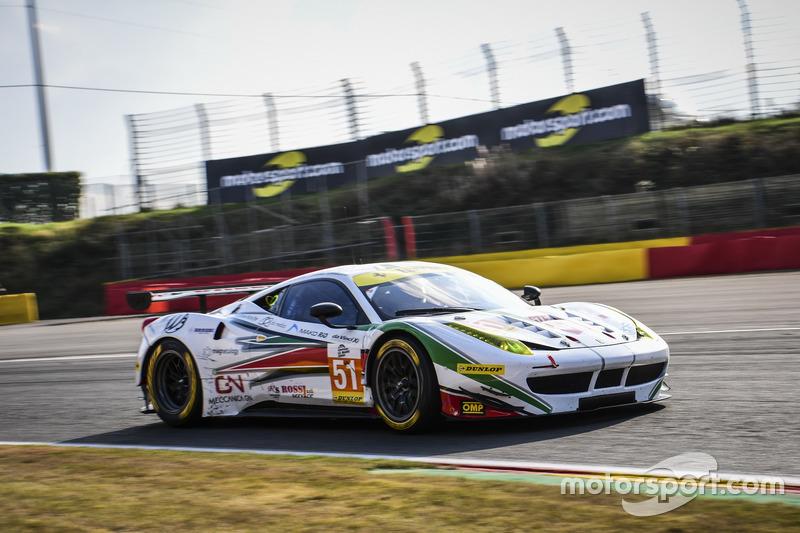 #51 AF Corse, Ferrari F458 Italia: Rui Aguas, Marco Cioci, Piergiuseppe Perazzini
