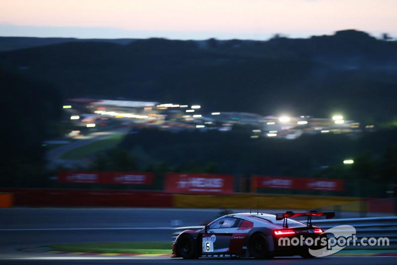 #6 Audi Team Phoenix, Audi R8 LMS: Christopher Mies, Frank Stippler, Markus Winkelhock