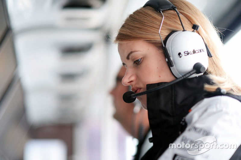 Bernadette Collins, Sahara Force India F1 Team Performance and Strategy Engineer
