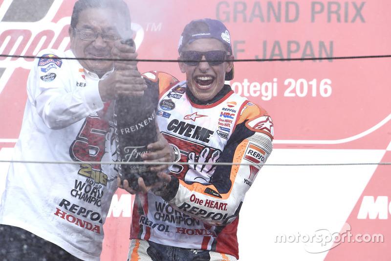 Podium: 1. Marc Marquez, Repsol Honda Team