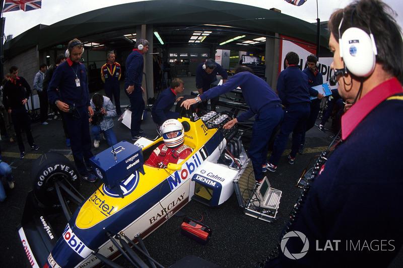 Martin Brundle, Williams FW12 ve teknik direktör Patrick Head