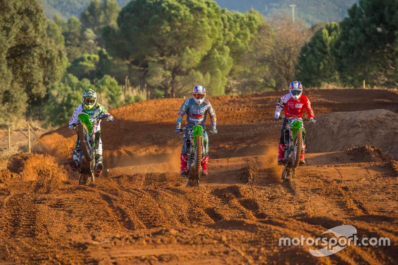 Adam Sterry, Jed Beaton y Ruben Fernández
