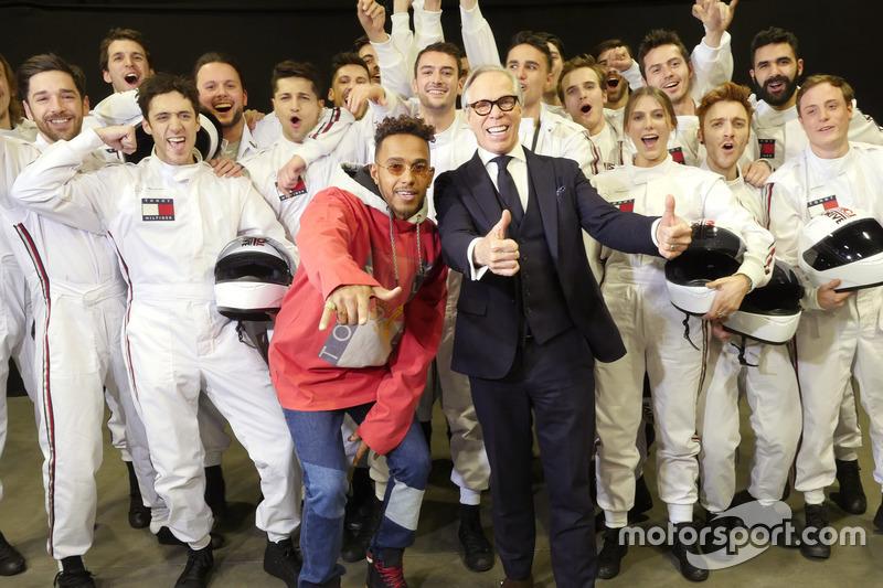 Lewis Hamilton, Mercedes AMG F1, Tommy Hilfiger