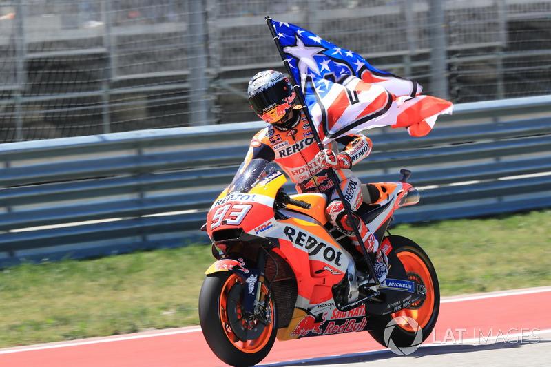 Победитель гонки: Марк Маркес, Repsol Honda Team