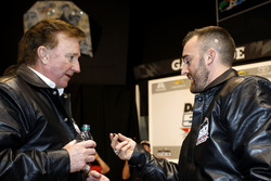 Austin Dillon, Richard Childress Racing Chevrolet Camaro with  Team owner Richard Childress