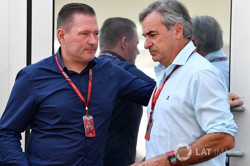 Jos Verstappen, Carlos Sainz