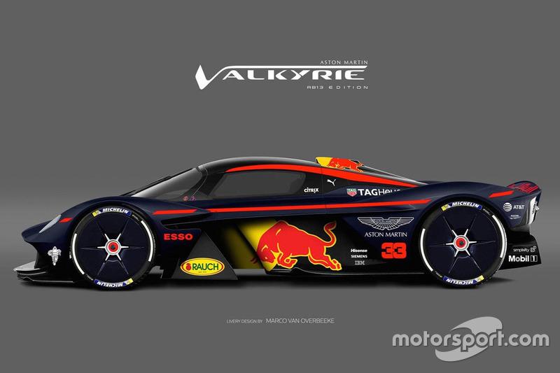 Aston Martin Valkyrie Red Bull Racing Livery At Motor1 Com