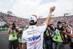 Sergio Perez, Sahara Force India on the drivers parade
