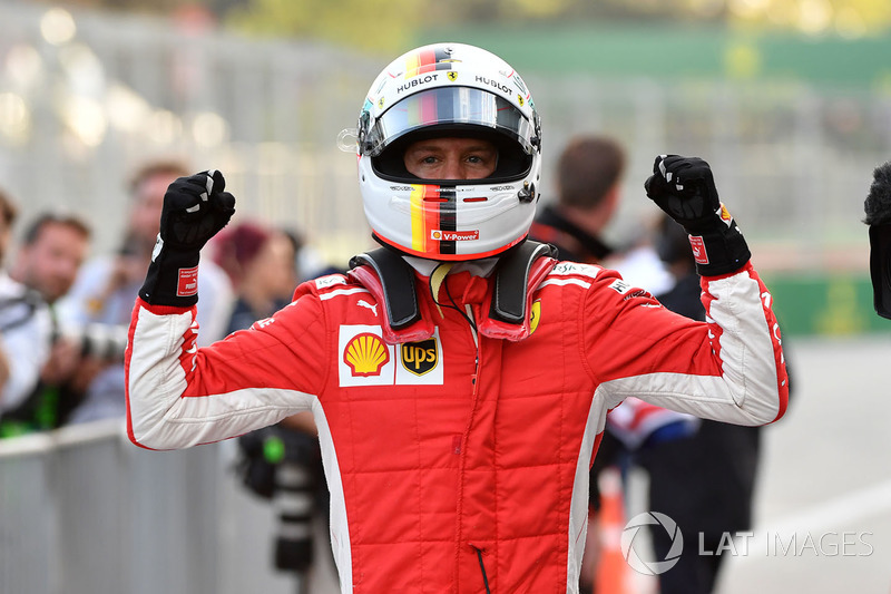 Sebastian Vettel chegou ao Azerbaijão líder do campeonato e mais uma vez cravou a pole