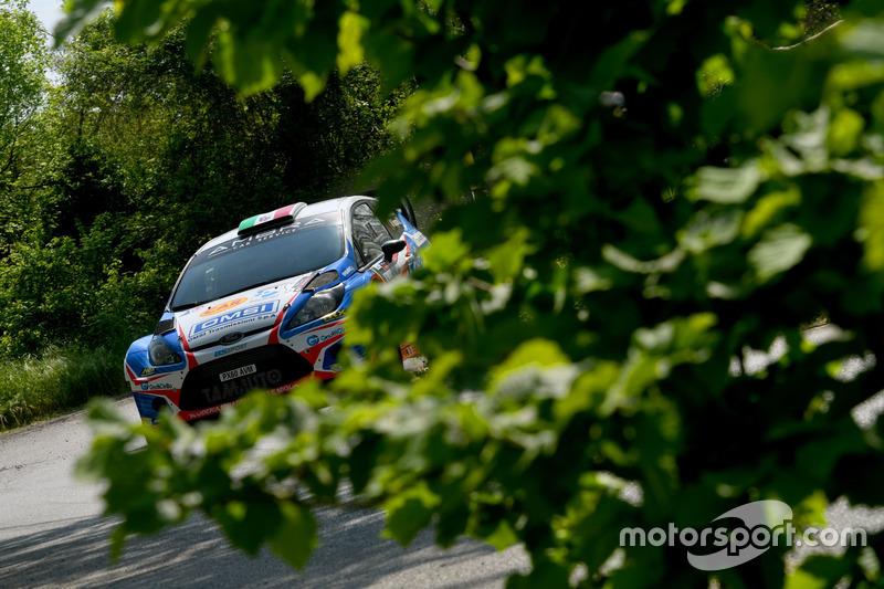 Stefano Albertini, Danilo Fappani, Ford Fiesta WRC, Mirabella Mille Miglia