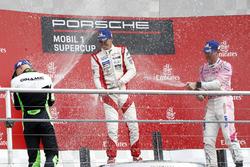 Podium: Mattia Drudi, Dinamic Motorsport, Nick Yelloly, FACH AUTO TECH, Michael Ammermüller, BWT Lechner Racing