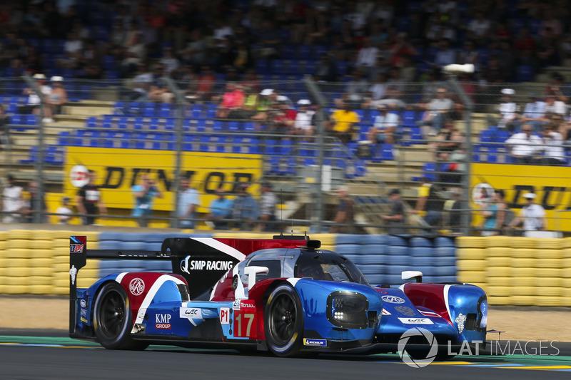 Stéphane Sarrazin: #17 SMP Racing BR Engineering BR1