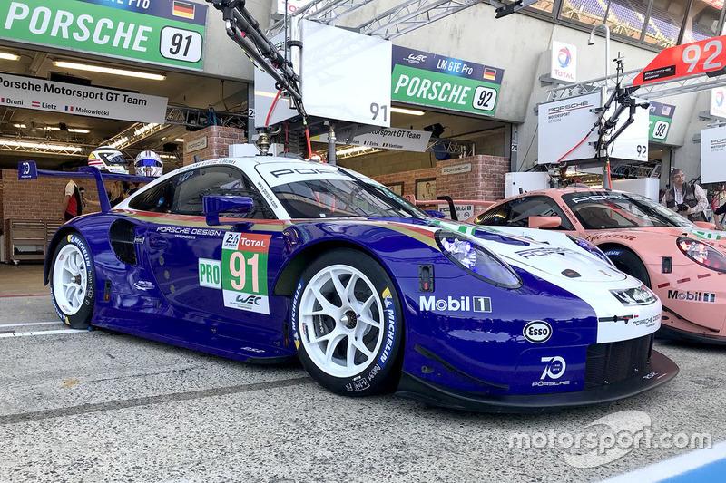 Особая ливрея #91 Porsche GT Team Porsche 911 RSR
