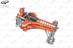 Ferrari F2005, closed chassis