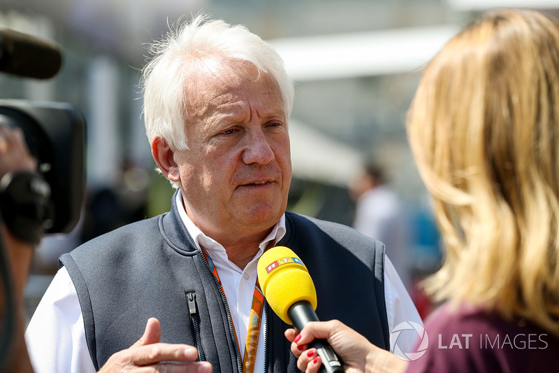 Charlie Whiting Gallery: Charlie Whiting, FIA Delegate