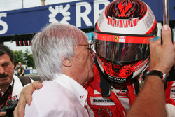 Kimi Raikkonen, Ferrari habla con Bernie Ecclestone