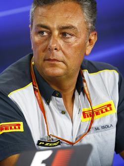 Mario Isola, directeur de la compétition de Pirelli