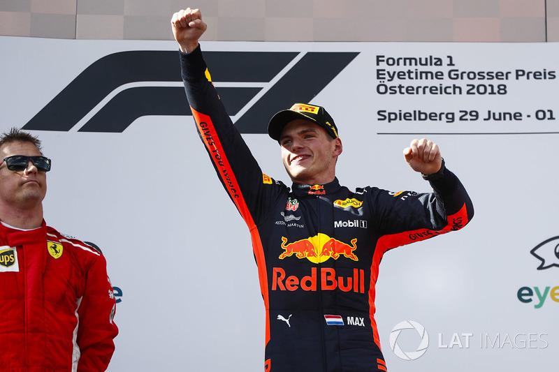 3. Max Verstappen - Letzter Sieg: Großer Preis von Österreich 2018 für Red Bull